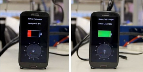 30 seconds to recharge the battery