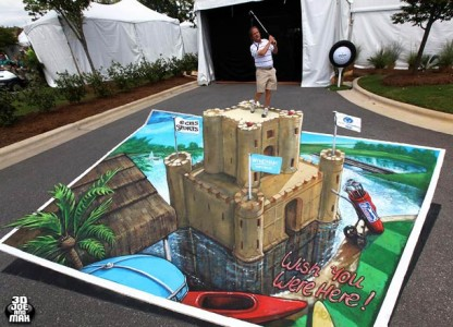 Top 3D Drawing Illusions-