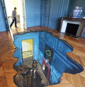 Top 15 3D-Drawing Illusions That Will Spin Your Head Between Reality And Illusion-1