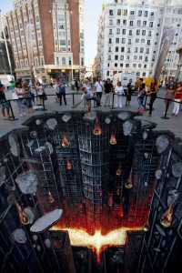 Top 15 3D-Drawing Illusions That Will Spin Your Head Between Reality And Illusion-10