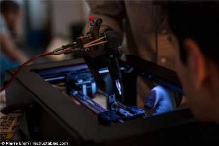3D printers for tattooing