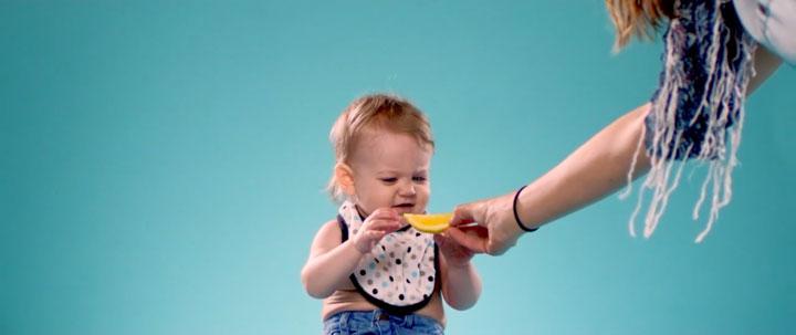 Kids Taste Lemon-