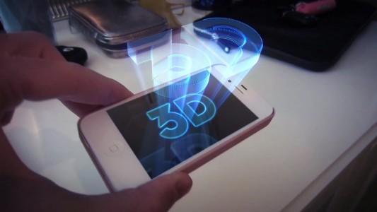 Apple Hologram phone
