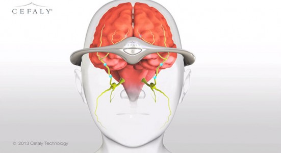 Cafely Electrical Impulse Band to Heal Migraines-2