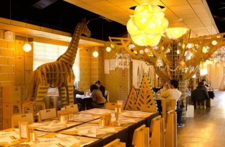 An Unusual Taiwanese Restaurant Made Entirely Of Cardboard-2