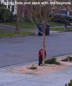 Top 20 Children Playing Hide and Seek Really Bad-
