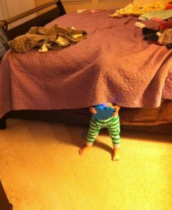 Top 20 Children Playing Hide and Seek Really Badly -15