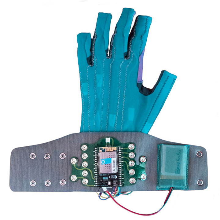 Revolutionary Connected Gloves To Compose Music By simple Hand Gestures-