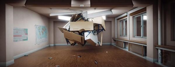Crazy Furniture: A Short Film About The Secret Life Of Classrom Furniture-1