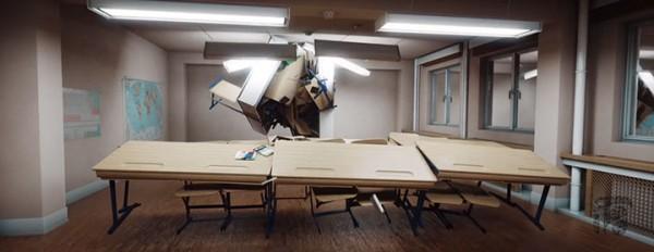 Crazy Furniture: A Short Film About The Secret Life Of Classrom Furniture-2