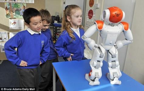 Emotions of Teacher Robot