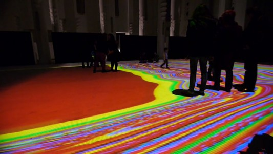 Enjoy Magical Walk On The Floor Of Sacre-Coeur Casablanca Illuminated By Thousands Of Colors-