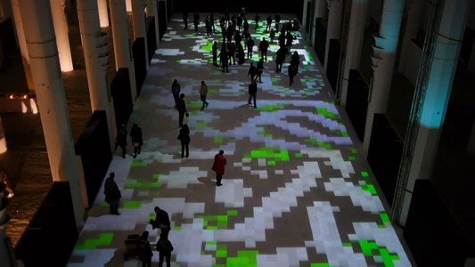 Enjoy Magical Walk On The Floor Of Sacre-Coeur Casablanca Illuminated By Thousands Of Colors-1