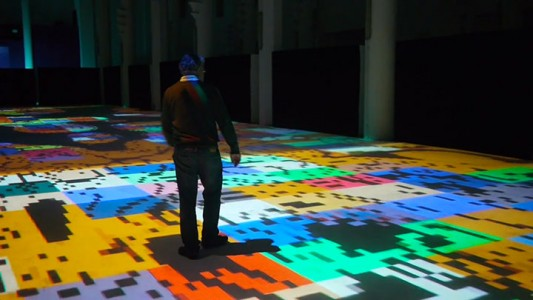 Enjoy Magical Walk On The Floor Of Sacre-Coeur Casablanca Illuminated By Thousands Of Colors-12