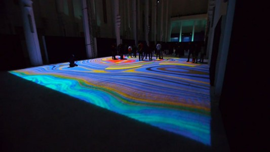 Enjoy Magical Walk On The Floor Of Sacre-Coeur Casablanca Illuminated By Thousands Of Colors-7