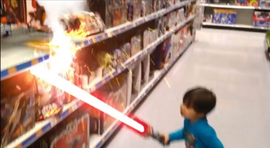 A Humorous Dad Turns Everyday Life Of His Little Boy Into A Real Action Movie (Video)-1