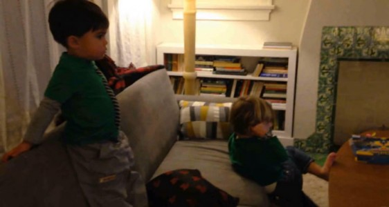 A Humorous Dad Turns Everyday Life Of His Little Boy Into A Real Action Movie (Video)-15