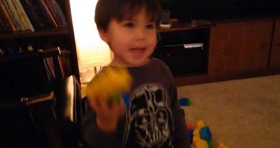 A Humorous Dad Turns Everyday Life Of His Little Boy Into A Real Action Movie (Video)-16