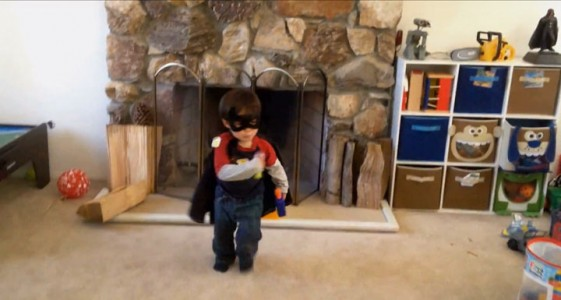 A Humorous Dad Turns Everyday Life Of His Little Boy Into A Real Action Movie (Video)-8