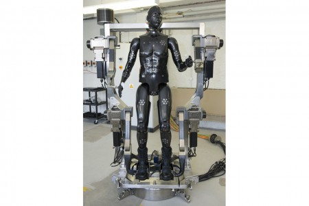 Porton Man: a dummy robot to test soldiers' suits