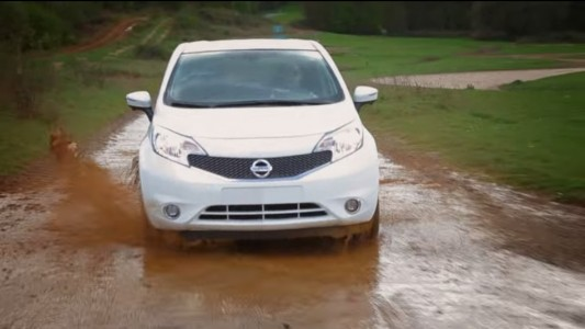 Nissan Note self cleaning