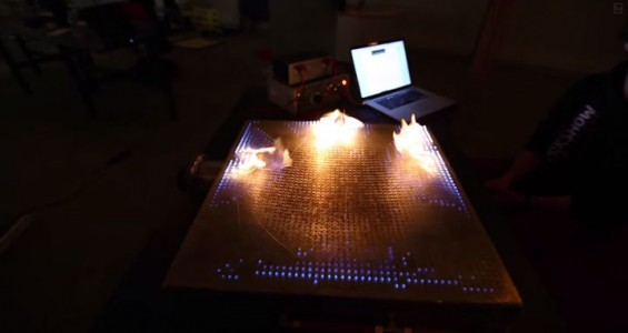 Pyro Board: A Board To Generate And Control 2500 Fires By Music-1