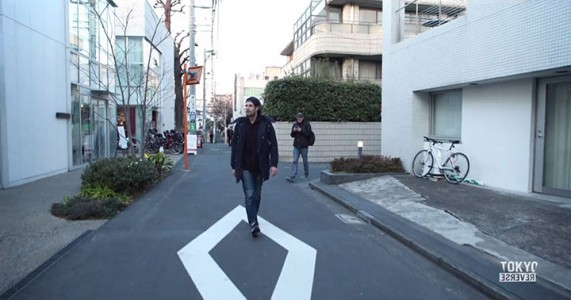 Reverse Tokyo: Imagine A World Where Everything Is Walking Reverse Except You-