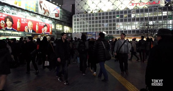 Reverse Tokyo: Imagine A World Where Everything Is Walking Reverse Except You-1