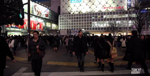 Reverse Tokyo: Imagine A World Where Everything Is Walking Reverse Except You-2