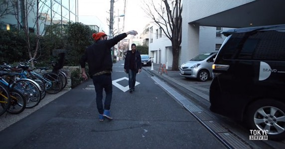 Reverse Tokyo: Imagine A World Where Everything Is Walking Reverse Except You-5