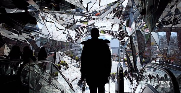 Reverse Tokyo: Imagine A World Where Everything Is Walking Reverse Except You-7