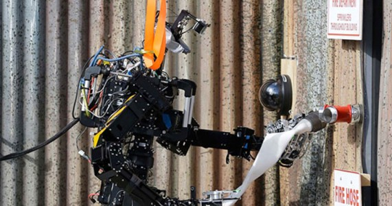 Saffir: A Firefighting Robot Designed By U.S. Navy Against Fires At Ship-1