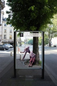 Top 12 Shocking Amnesty International Posters At Bus Stop-