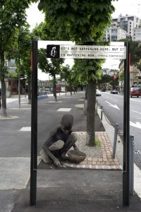 Top 12 Shocking Amnesty International Posters At Bus Stop-1