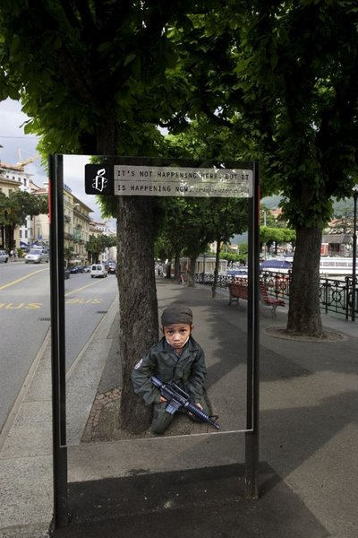 Top 12 Shocking Amnesty International Posters At Bus Stop-11