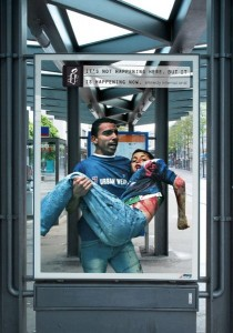 Top 12 Shocking Amnesty International Posters At Bus Stop-4