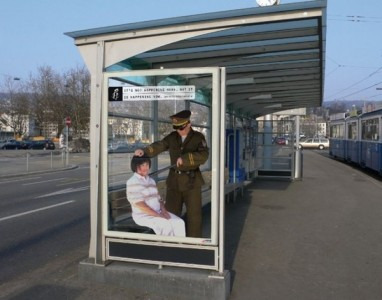 Top 12 Shocking Amnesty International Posters At Bus Stop-9