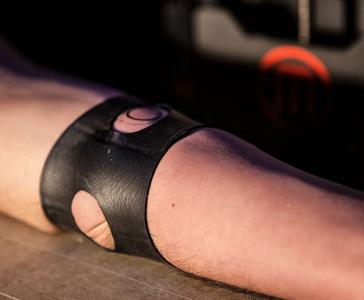 3D printed Tattoo on Volunteer's Hand
