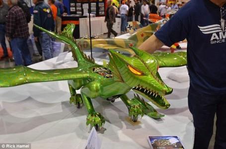 Remote controlled dragon