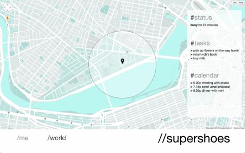 supershoes navigation