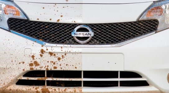 world's 1st self cleaning car