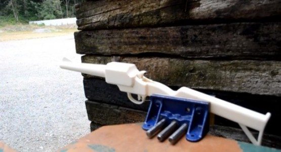 3D printed deadly rifle