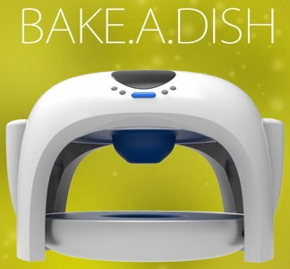 App to bake plates and bowls