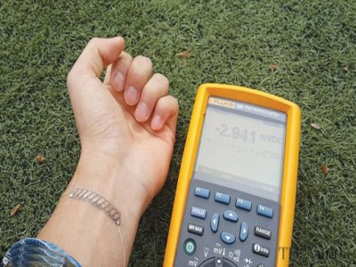 Body heat to charge smartphone