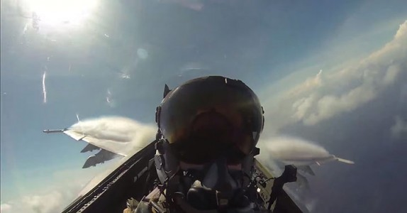 Place Yourself In The Cockpit Of A Fighter Plane Flying Over Japan (Video)-