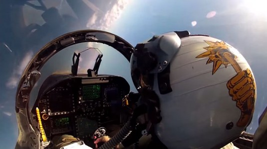 Place Yourself In The Cockpit Of A Fighter Plane Flying Over Japan (Video)-2