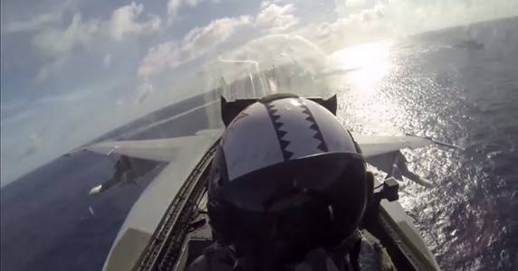 Place Yourself In The Cockpit Of A Fighter Plane Flying Over Japan (Video)-4