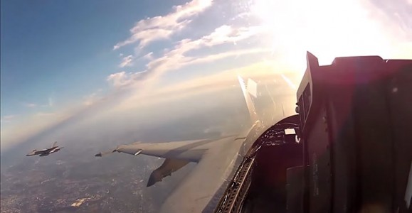 Place Yourself In The Cockpit Of A Fighter Plane Flying Over Japan (Video)-6