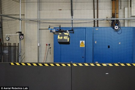Drones to dispose off the nuclear waste