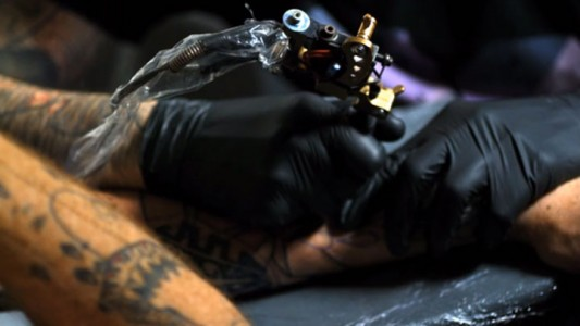 Fascinating Video Reveals Tattoo Making Close-up-